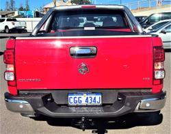 2018 Holden Colorado LTZ RG MY18 4X4 Dual Range Absolute Red