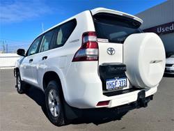 2017 Toyota Landcruiser Prado GX GDJ150R 4X4 Dual Range Glacier White