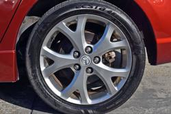 2008 Mazda 3 SP23 BK Series 2 MY08 Copper Red