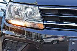 2017 Volkswagen Tiguan 110TSI Comfortline 5N MY17 Deep Black