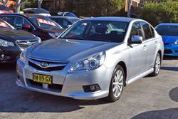 2011 Subaru Liberty 2.5i 5GEN MY11 AWD Steel Silver
