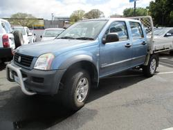 2004 Holden Rodeo LX RA Blue