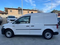 2017 Volkswagen Caddy TSI160 Runner 2KN MY17.5 White
