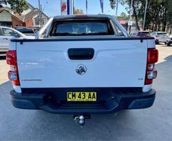 2017 Holden Colorado LS RG MY17 4X4 Dual Range White