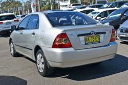2006 Toyota Corolla Ascent ZZE122R Sterling Silver