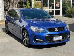 2016 Holden Commodore SV6 Black VF Series II MY16