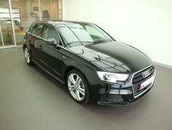 2020 Audi A3 35 TFSI S line plus 8V MY20 Mythos Black