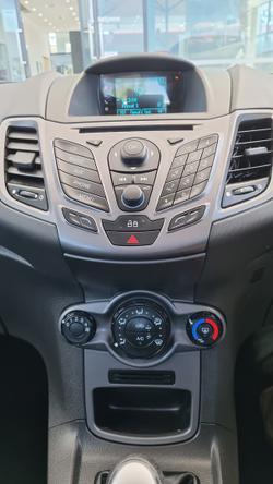 2014 Ford Fiesta Ambiente WZ MY15 Ingot Silver