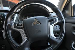 2017 Mitsubishi Triton GLS MQ MY18 4X4 Dual Range Sterling Silver