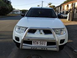 2012 Mitsubishi Challenger PB MY12 White