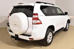 2015 Toyota Landcruiser Prado GXL KDJ150R MY14 4X4 Dual Range Glacier White