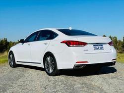 2017 Hyundai Genesis DH Crystal White