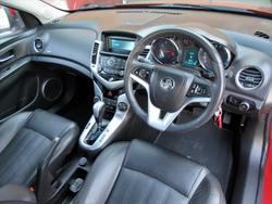 2012 Holden Cruze CDX JH Series II MY12 Red