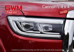2021 GWM Ute Cannon-L NPW 4X4