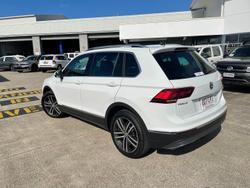 2019 Volkswagen Tiguan 162TSI Highline 5N MY19.5 Four Wheel Drive Pure White