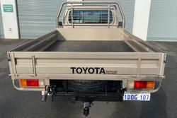 2009 Toyota Landcruiser GXL VDJ79R 4X4 Dual Range Gold