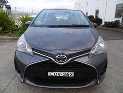 2016 Toyota Yaris Ascent NCP130R Graphite