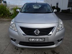 2012 Nissan Almera Ti N17 Silver