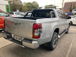 2019 Mitsubishi Triton GLS Premium MR MY19 4X4 Dual Range Sterling Silver