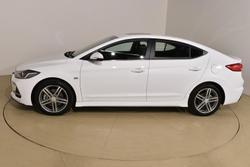 2018 Hyundai Elantra SR Turbo AD MY18 Polar White