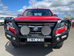 2017 Holden Colorado LTZ RG MY18 4X4 Dual Range Red