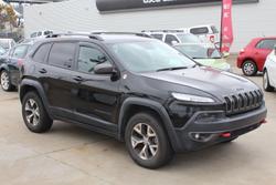 2015 Jeep Cherokee Trailhawk KL MY15 4X4 Dual Range Brilliant Black