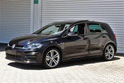 2019 Volkswagen Golf 110TSI Highline 7.5 MY19.5 Deep Black