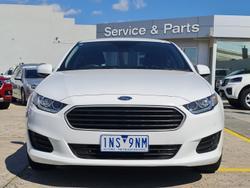 2016 Ford Falcon FG X Winter White