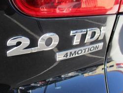 2011 Volkswagen Tiguan 103TDI 5N MY12 Four Wheel Drive Deep Black