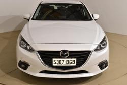 2015 Mazda 3 SP25 BM Series Snowflake White Pearl