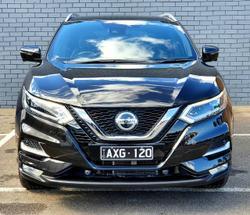 2018 Nissan QASHQAI Ti J11 Series 2 PEARL BLACK