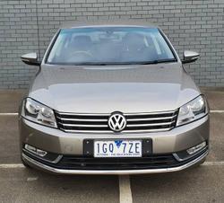 2014 Volkswagen Passat 118TSI Type 3C MY15 AUTUMN BROWN
