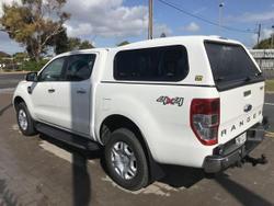 2016 FORD RANGER 2016 FORD RANGERPX II XLT MY17 TECH PACK (4x4) AUTO DUAL CAB UTILITY DIESEL White