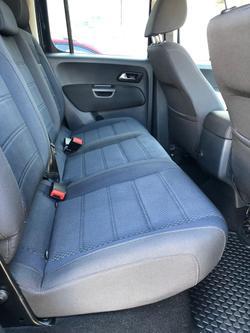 2018 Volkswagen Amarok TDI550 Highline 2H MY18 4X4 Constant Starlight Blue