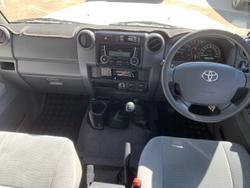 2018 Toyota Landcruiser GXL VDJ76R 4X4 Dual Range White