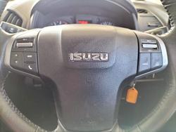 2015 Isuzu D-MAX SX High Ride MY15 WHITE