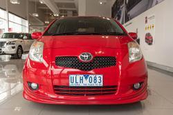 2006 Toyota Yaris YRX NCP91R Red