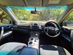 2013 Toyota Kluger KX-R GSU45R AWD Grey
