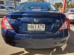 2012 Nissan Almera ST N17 Blue