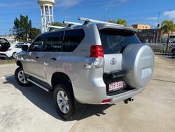 2010 Toyota Landcruiser Prado GX KDJ150R 4X4 Constant Silver Pearl