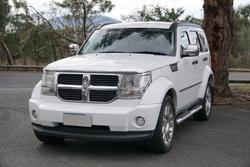 2011 Dodge Nitro SX KA MY11 Four Wheel Drive Bright White