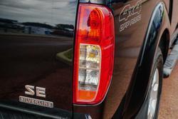 2015 Nissan Navara Silverline SE D40 Series 9 4X4 Dual Range Cosmic Black