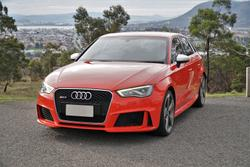 2016 Audi RS3 8V MY16 Four Wheel Drive Catalunya red