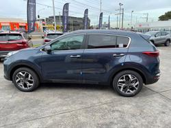 2021 Kia Sportage SX+ QL MY21 Blue