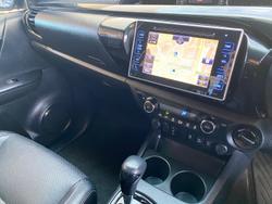 2019 Toyota Hilux Rugged X GUN126R 4X4 Dual Range Eclipse Black