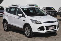 2015 Ford Kuga Ambiente TF MkII MY15 Frozen White