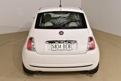 2014 Fiat 500 Pop Series 1 Funk White