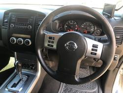 2012 Nissan Navara ST D40 Series 6 4X4 Silver