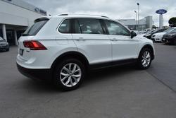 2018 Volkswagen Tiguan 132TSI Comfortline 5N MY19 Four Wheel Drive White