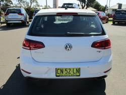 2017 Volkswagen Golf 110TSI Trendline 7.5 MY18 Pure White